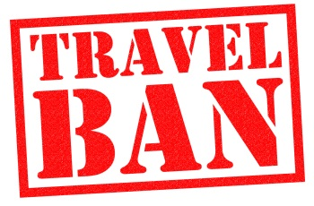 Travel Ban Red Stamp