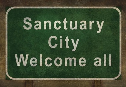 sanctuary sign
