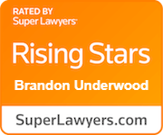 Rated by Super Lawyers: Rising Star, Brandon Underwood