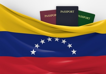 Venezuela Passport Flag